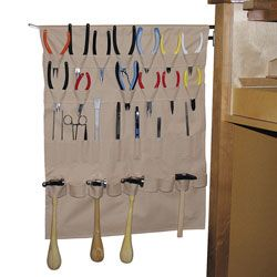 Space Saver Bench Apron Jewelry Tools Holder  Bench Apron  	  Your Price: $24.95