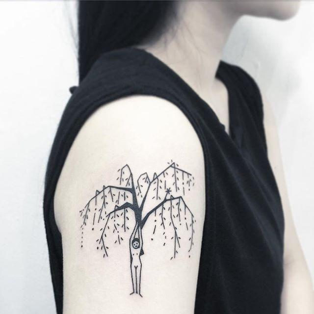 Conheça nossa incrível seleção com 65 fotos de tatuagens de árvores impressionantes e inspiradoras. Confira!