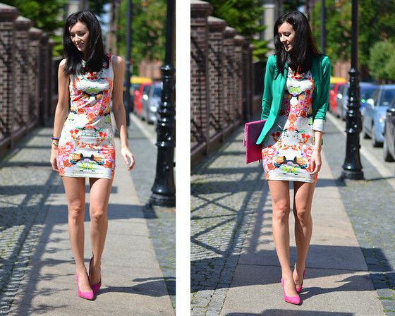 Floral boom (by Daisyline .) http://lookbook.nu/look/3706585-Floral-boom