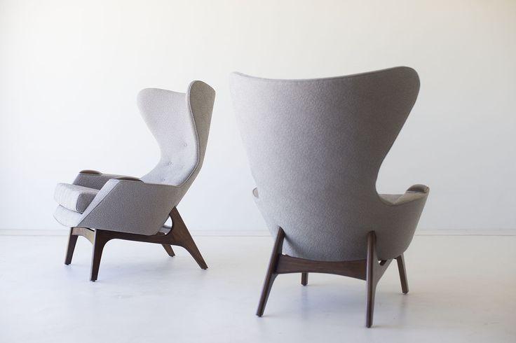 Craft Associates® Modern Wing Chairs - Large - 1407 – craft associates® furniture