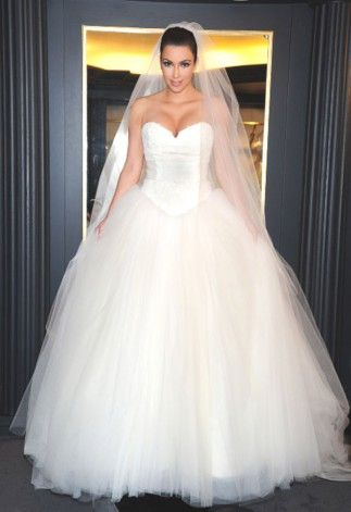 Kim Kardashian robe de mariée