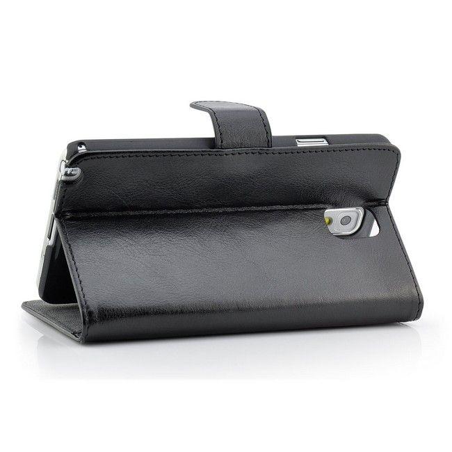 Business Schutztasche für Samsung Galaxy Note 3 Schwarz