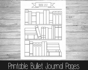 Bullet Journal  Ultimate Collection  Hand Drawn Style