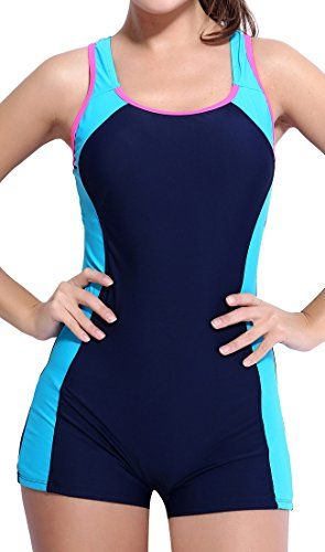 BeautyIn high neck swimsuit woman swimsuit chlorine resistant endurance swimsuits for womenX Back8 *** Continue to the product at the image link.