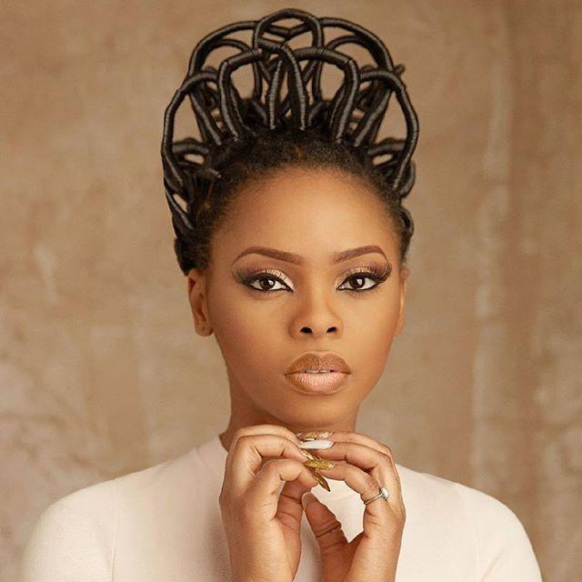 Bon vendredi sur TRACE Africa avecla magnifique chanteuse nigérienne chidinma 😍