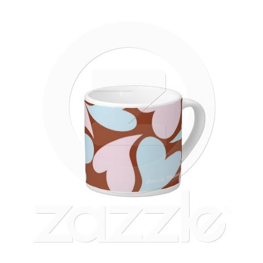 """Cup Hearts"" - Visit my store: http://www.zazzle.com/joanadesign"