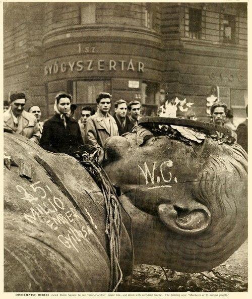 Revolutin: 1956, Hungary, Fallen Stalin Statue