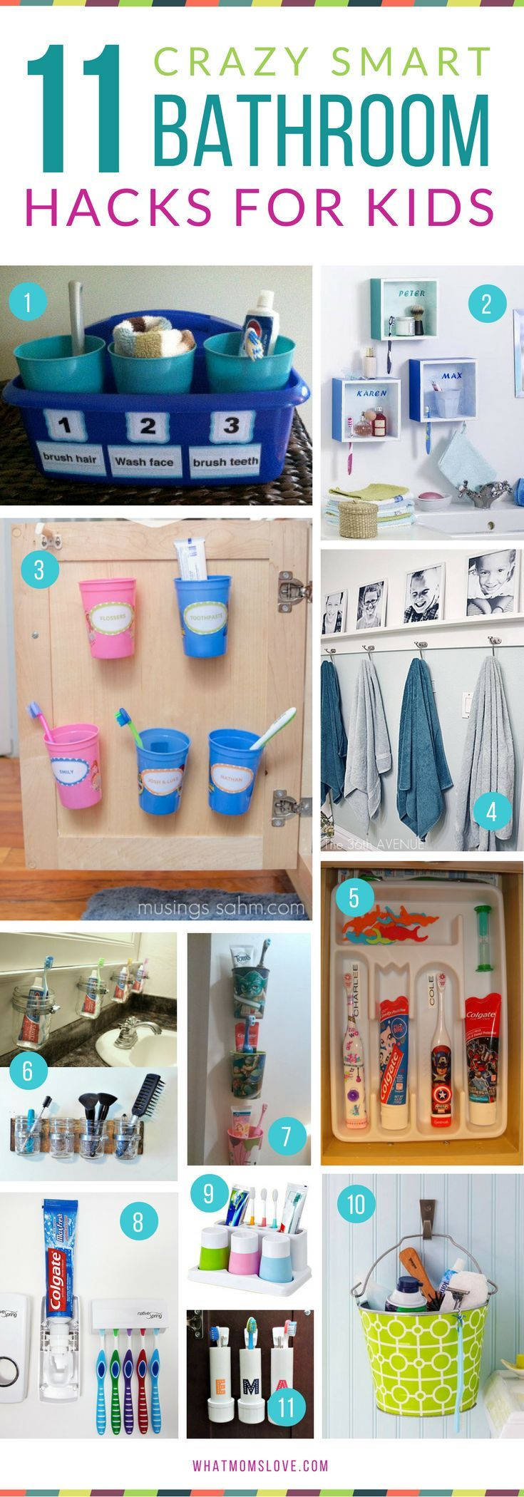 Diy Kids Bathroom Decor 203 best dream home - bathroom images on pinterest | bathroom