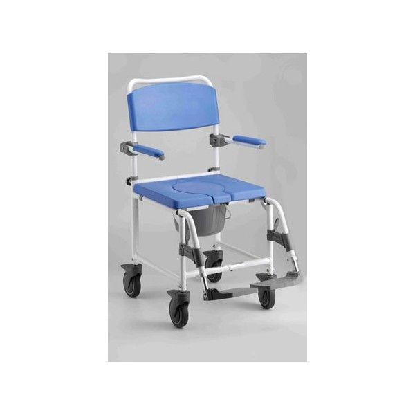 Silla de ducha aluminio con ruedas silla ducha aluminio for Sillas para ducha plegables