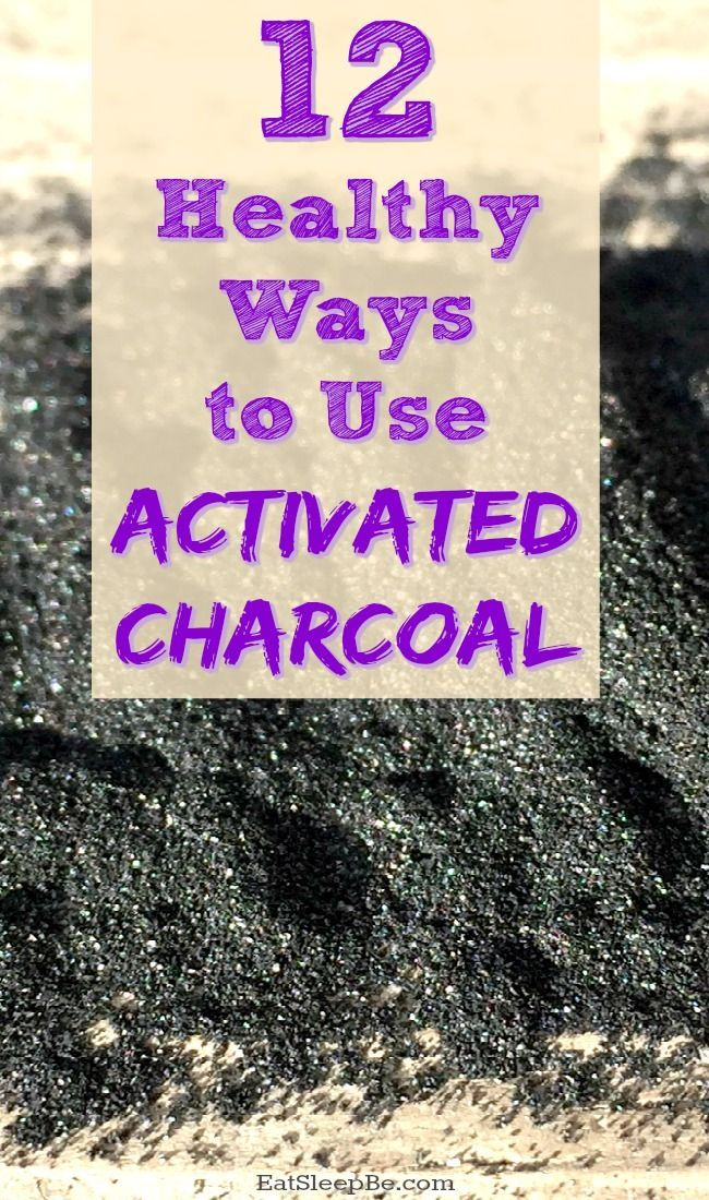 What is activated charcoal and how can it help you with your health and beauty needs? Here are 12 healthy activated charcoal uses!