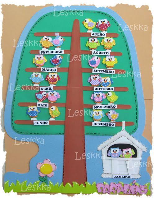 Leskka arte em e v a escola pinterest ems owl and for Asistenciero para jardin de infantes