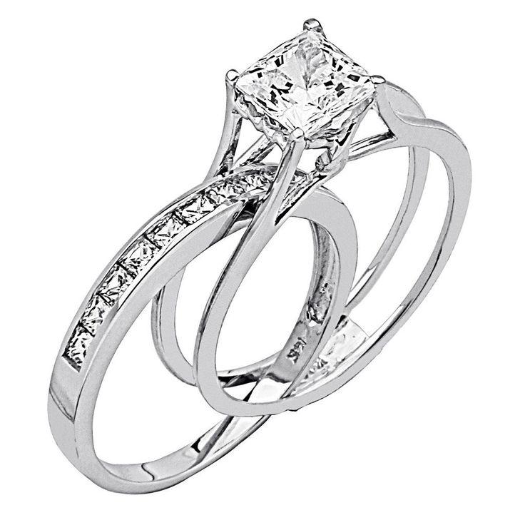 Wedding Rings For Women Princess Cut