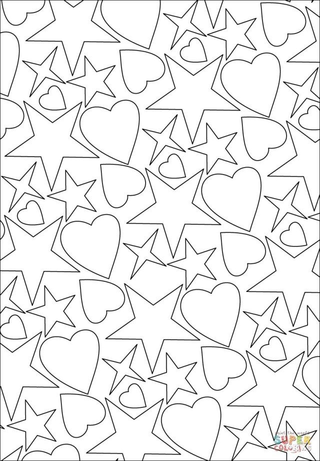 27 Excellent Image Of Stars Coloring Pages In 2020 Star Coloring Pages Heart Coloring Pages Valentine Coloring Pages