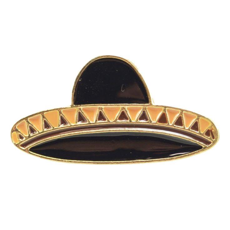 Enamel Pin - Sombrero