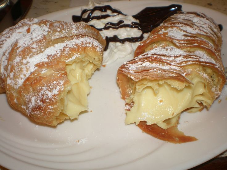lobster tail pastries