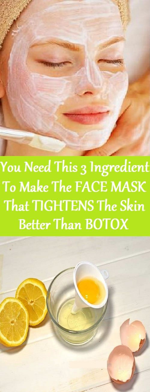 Today's recipe is a great substitute for plastic surgery! It is a facial mask that will make you look 10 years younger. The results will be visible even after the first application! Forget about those expensive cosmetic treatments that might damage your skin. This amazing mask is considered to be an equivalent of the famous Botox! However, it is completely natural and safe to use!