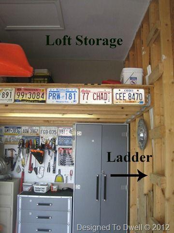 25 best ideas about garage loft on pinterest garage for High loft garage storage