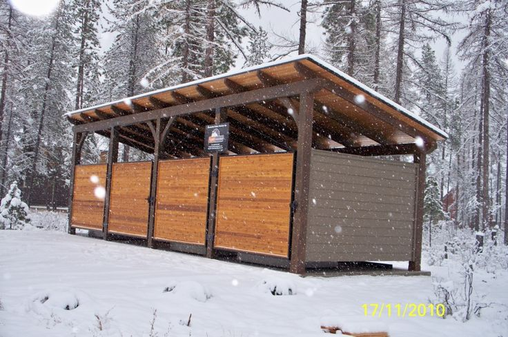 Architectural Dumpster Enclosures Creekside Apartments