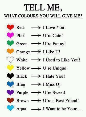 . اي لون ؟! wich color