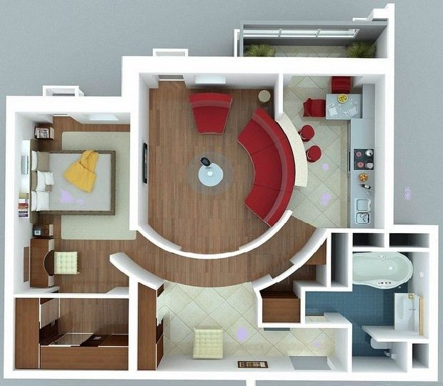 Interior Design a Small House and Interior Small House Plans