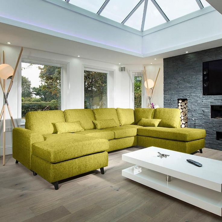 Best 25 Green L Shaped Sofas Ideas On Pinterest  Green I Shaped Amazing Odd Shaped Living Room Design 2018