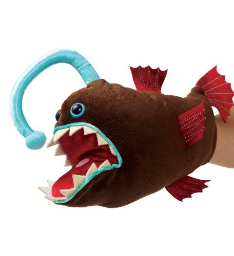 102 best images about stuffed nightmares on pinterest for Angler fish toy