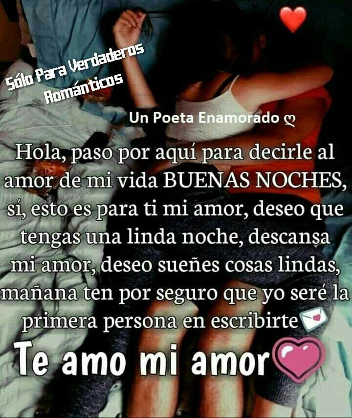 Poemas De Buenos Dias Mi Amor Te Amo Pin En Frases De Sentimientos