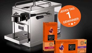 Gewinne mit ethicalcoffee.ch und ein wenig Glück jeden Tag eine WARM INOX #Kaffeemaschine im Wert von CHF 249.- , sowie gratis Packungen von #Espresso-Kapseln und Arabica Classic-Kapseln. http://www.alle-schweizer-wettbewerbe.ch/gewinne-taeglich-eine-ethical-coffee-warm-inox/