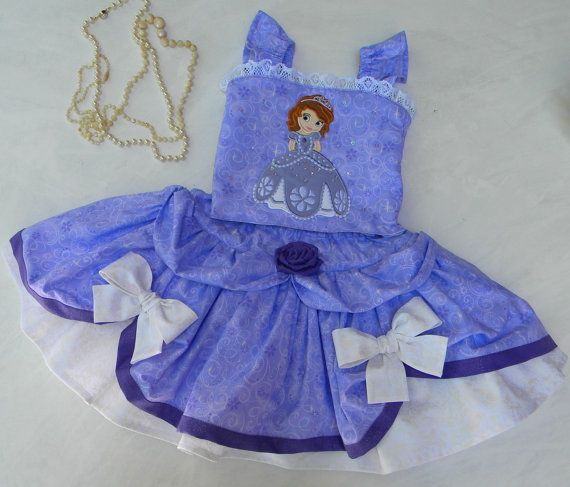 Toddler Princess Party-Pageant Costume Dress, Twirl Skirt and Halter - Princess Sofia- Over the Top in sizes 12-18 month, T2-T3 and 4-5