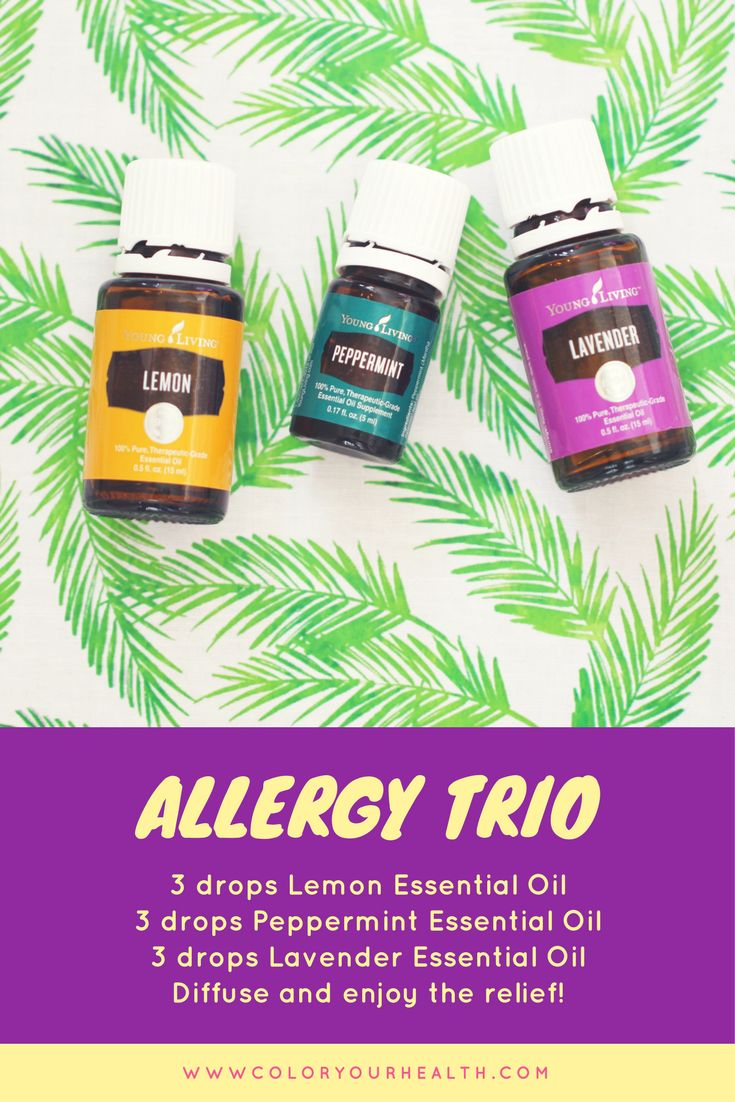 Fight allergy symptoms with essential oils.