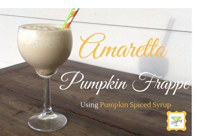 Amaretto Pumpkin Frappe