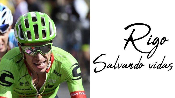 Campaña de Rigo para salvar vidas   Ciclismo
