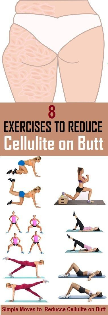 8 Most Effective Exercises to Reduce Cellulite on Butt - stylecrown.us-Cellulite the most feared enemy of women, occurs in most women and do not take in to account the weight or age. back exercises is [...] by robin' nest