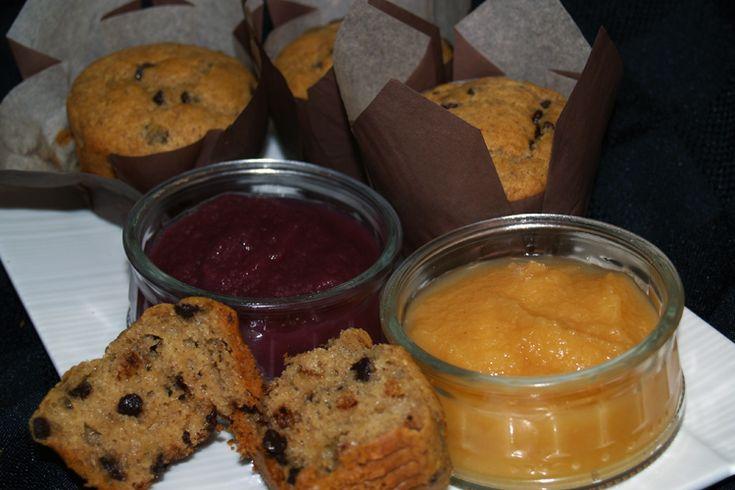 Muffins choco-bananes sans gluten