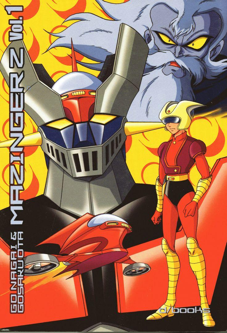 Mazinger Z Vol.1 by Go Nagai - Gosaku Ota (Kazuhiro Ochi cover)