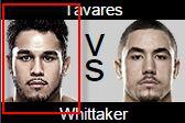 UFC Fight Night 65 Brad Tavares vs Robert Whittaker Prediction