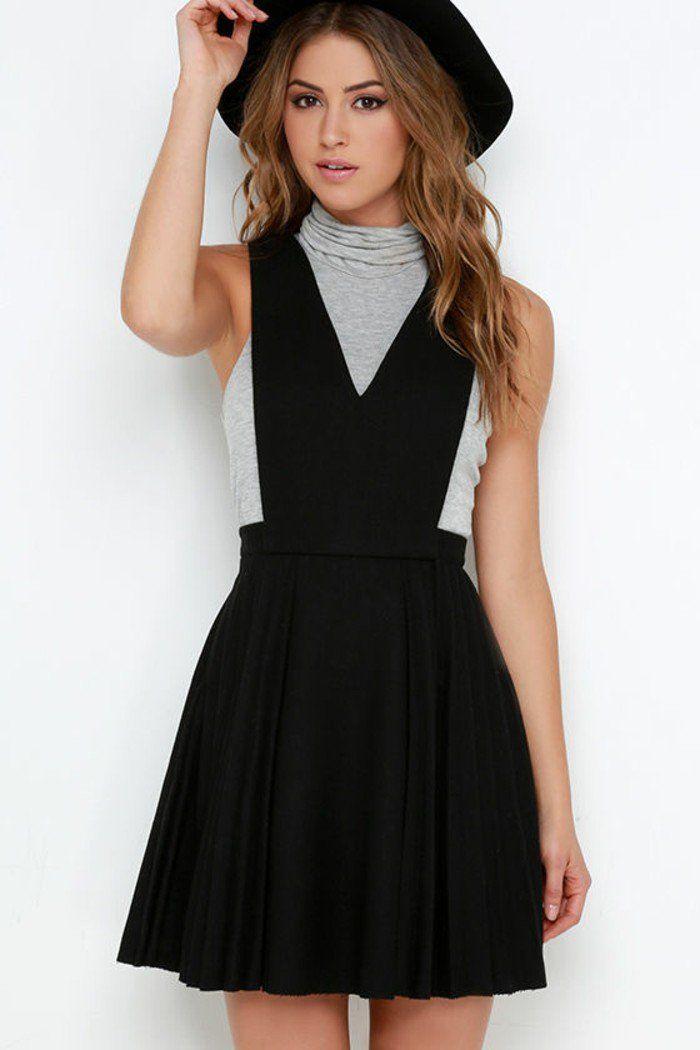 La robe longue zara salopette robe cool idée tenue
