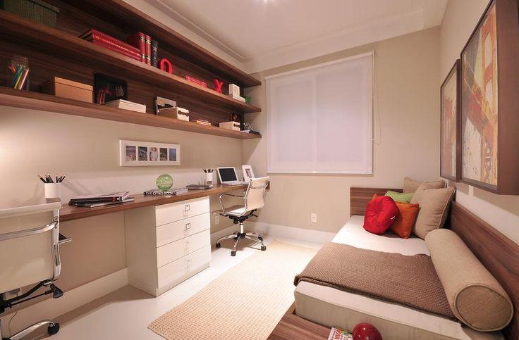 Home Office organizado e inspirador, para suas horas de trabalho se tornarem mais leves e produtivas. #inspiracao #mobplus #guarapuava