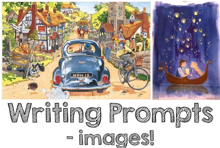 A Pinterest board filled with images that can serve as writing prompts! :)