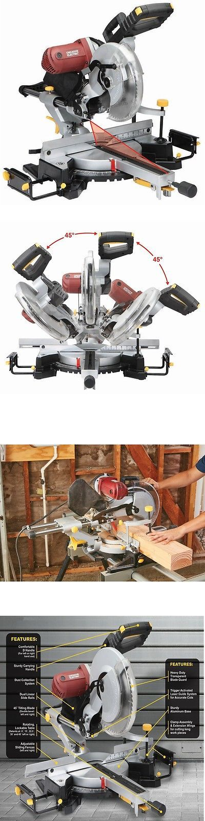 Miter and Chop Saws 20787: 12 Double-Bevel Sliding Compound Miter Saw With Laser Guide - Nib Free Fedex 48 -> BUY IT NOW ONLY: $173.99 on eBay!