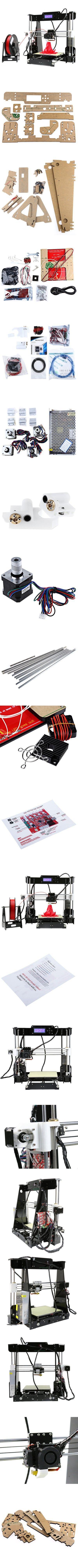 3D Printer & Supplies | A8 Desktop 3D Printer Prusa i3 DIY Kit