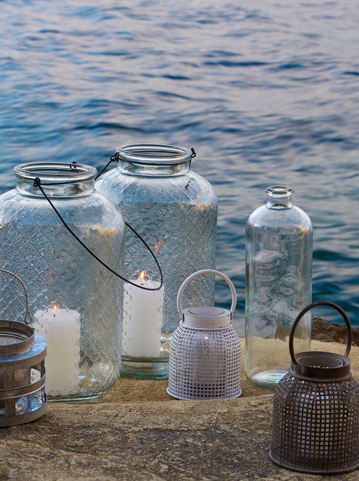 Les lanternes - Alinéa - Jeu concours Pinterest - A gagner : 500€ en bons d'achat ! Jouez sur : https://www.pinterest.com/alinea/jeu-en-exterieur/