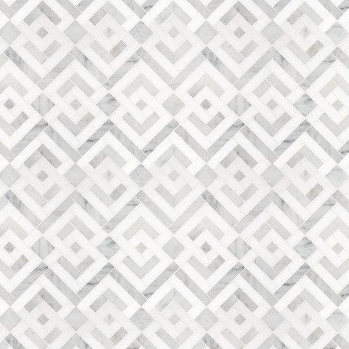 Signet Collection Parquet Solid Mosaic - eclectic - bathroom tile - other metro - Waterworks