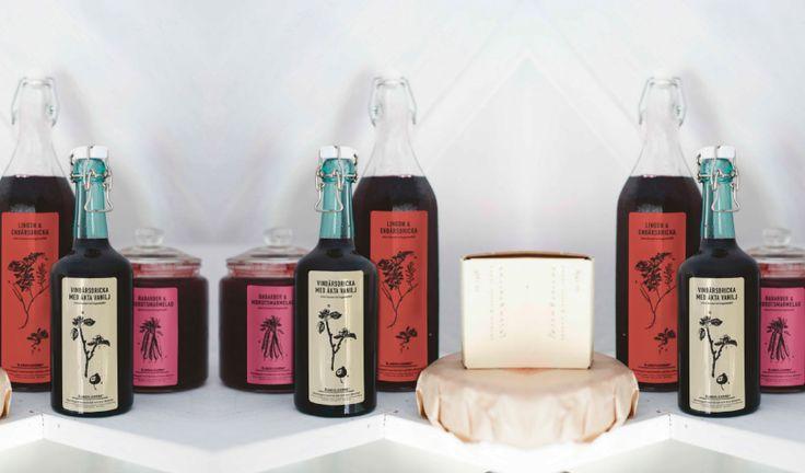 Etikett sylt, saft, marmelad av fridapihl.se