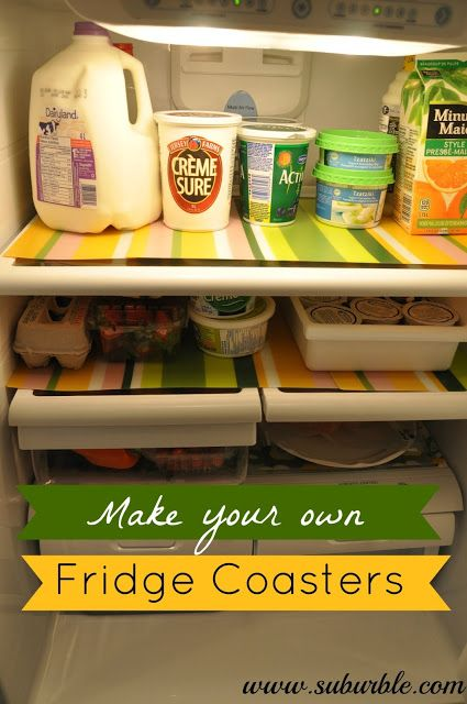 Got Slop? Make Your Own Fridge Coasters - Suburble