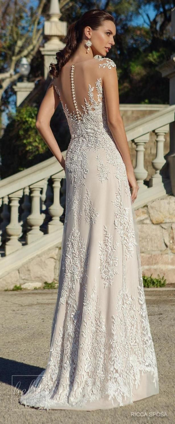 Lace jacket over wedding dress january 2019  best dresses images on Pinterest
