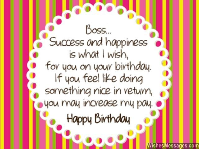 17 Best Ideas About Birthday Wishes For Boss On Pinterest Formal Happy Birthday Wishes Quotes