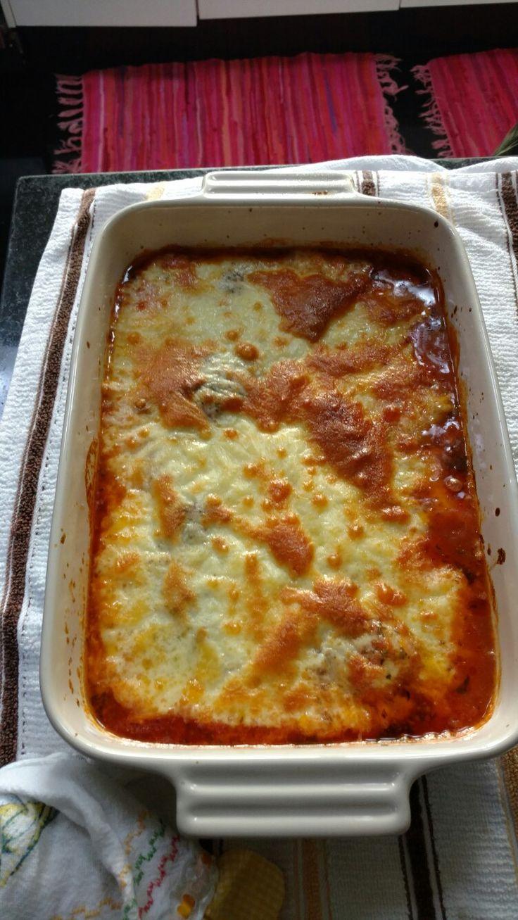 File de frango a Parmegiana sensacional deliciosa da chef Jacke