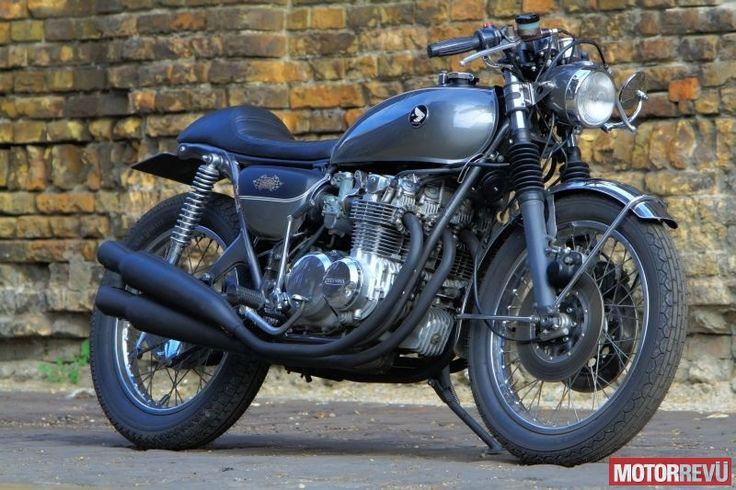 Motorok Custom sarok Honda CB 500 Four Café Racer (Sapka Mûvek)