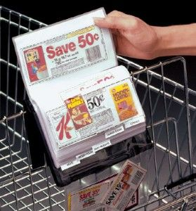 There are many ways to organize coupons including accordion files, shoe boxes, and three-ring binders. If you like to be able to clearly see your coupons then the binder method is a great option.